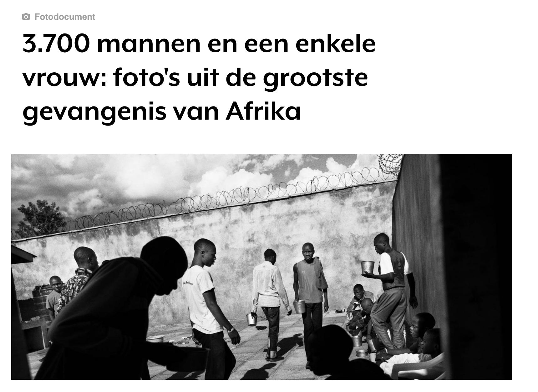 Young in Prison Kadir van Lohuizen Vrij Nederland