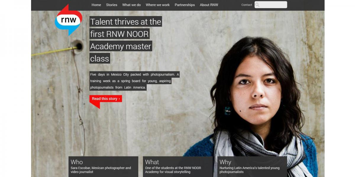 Portrait photography for news organisation RNW media by